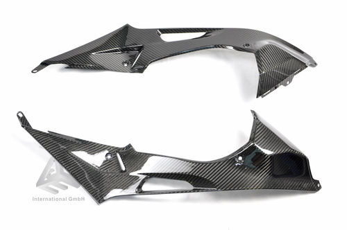BMW S1000RR 2009-2014 Carbon  under Tank Side Trim Panels